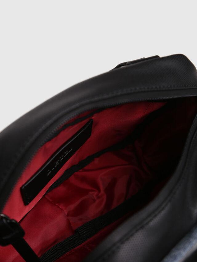 Diesel - D-SUBTORYAL SMALLCRO, Blue Jeans - Crossbody Bags - Image 4