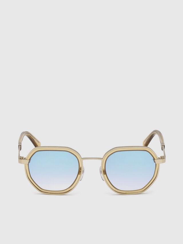 Diesel - DL0267, Gold - Eyewear - Image 1