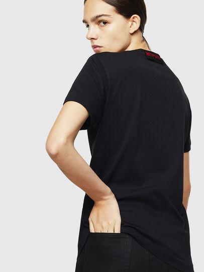 Diesel - LCP-T-DIEGO-ELPROFES, Black - T-Shirts - Image 4