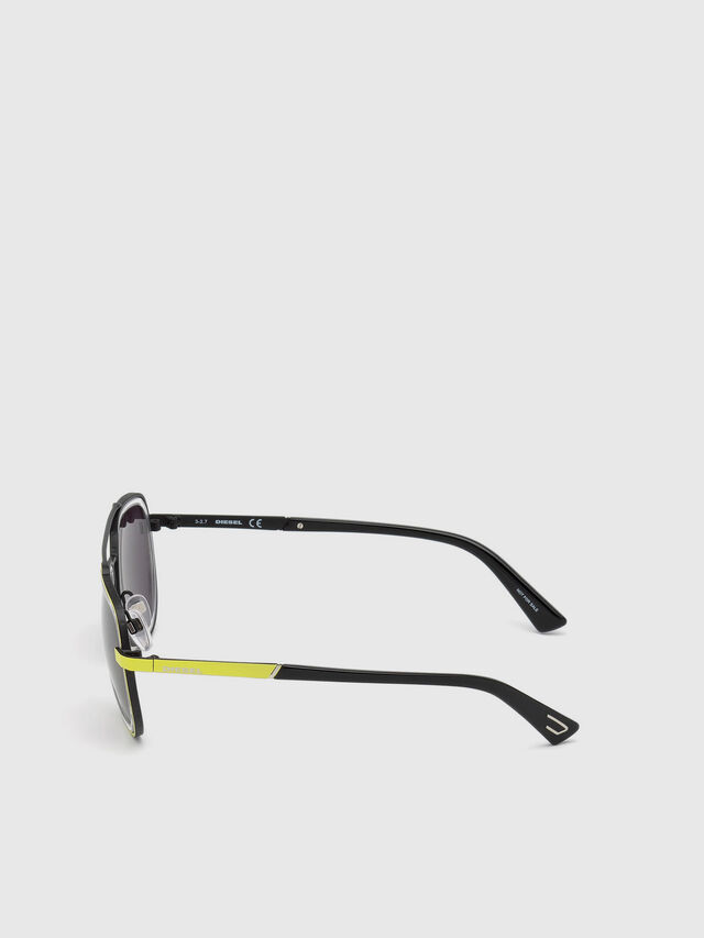 Diesel - DL0266, Yellow - Sunglasses - Image 3