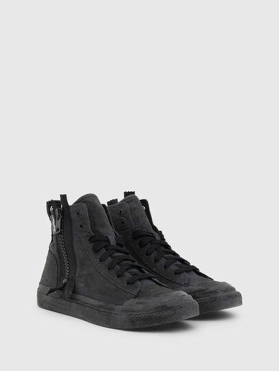 Diesel - S-ASTICO MID ZIP SP, Black - Sneakers - Image 2
