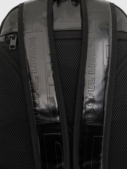Diesel - X-BOLD BACK, Black - Backpacks - Image 7