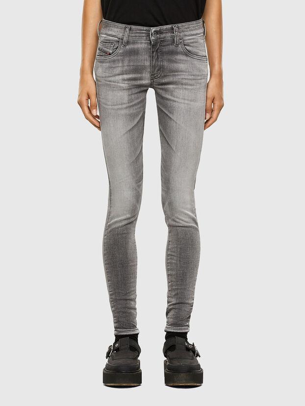 Slandy Low 009FD, Light Grey - Jeans