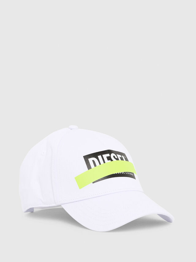 Diesel - CIRIDE, White - Caps, Hats and Gloves - Image 1