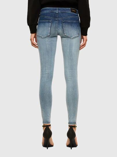 Diesel - Slandy Low 009CV, Light Blue - Jeans - Image 2