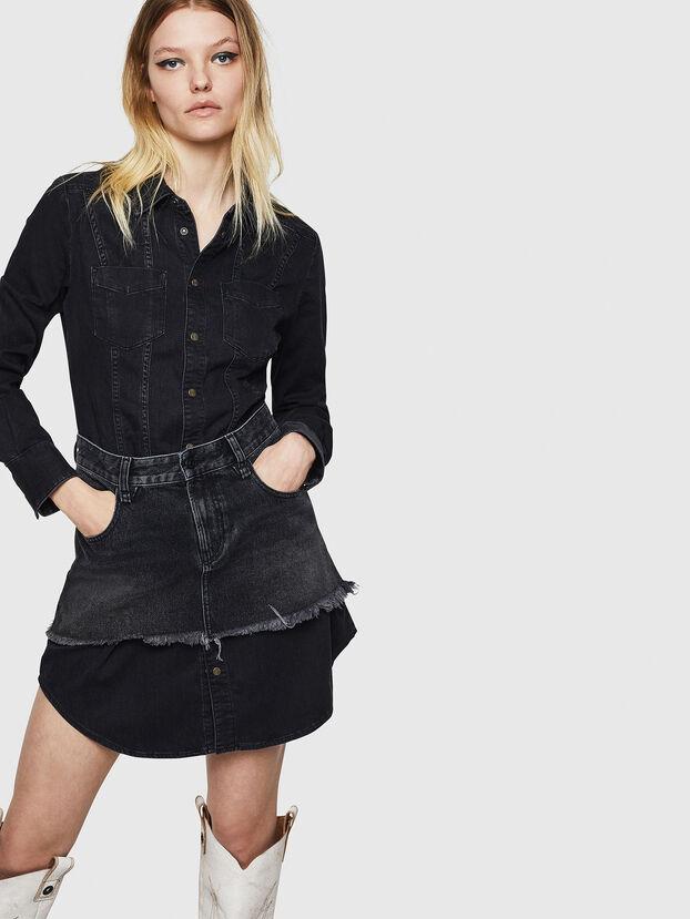 DE-DARI, Black/Dark grey - Dresses