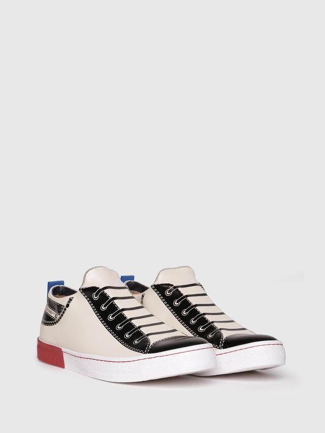 Diesel - S-DIESEL IMAGINEE LOW, White/Black - Sneakers - Image 2