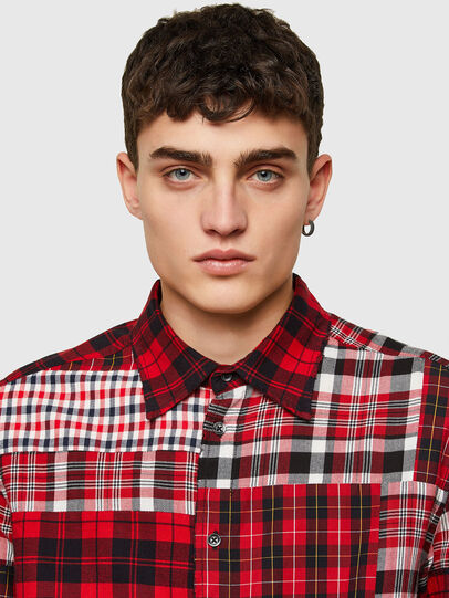 Diesel - S-MORRIS, Red/White - Shirts - Image 3