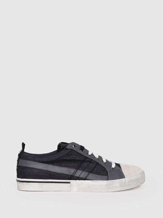 Diesel - D-VELOWS LOW LACE, Black/Grey - Sneakers - Image 1