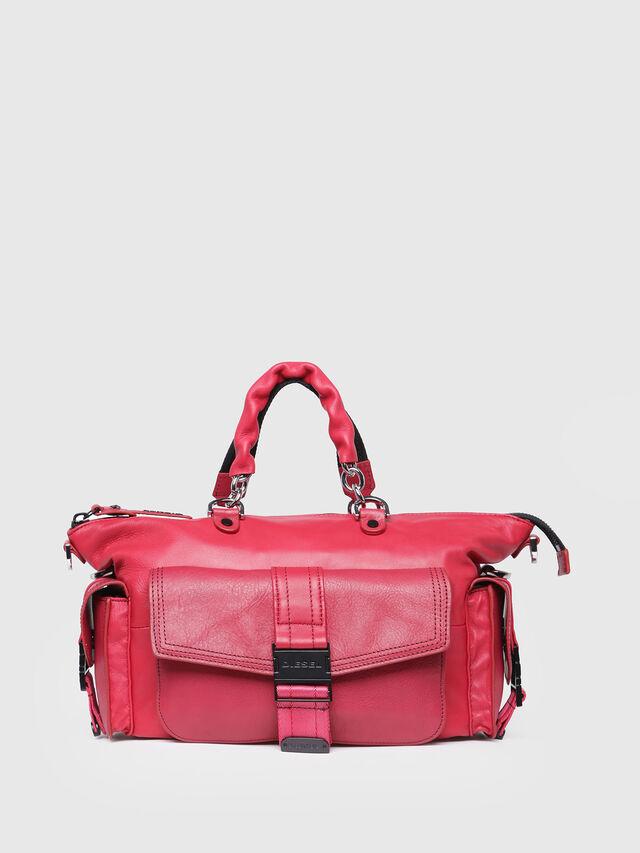 Diesel - MISS-MATCH SATCHEL M, Hot pink - Satchels and Handbags - Image 1