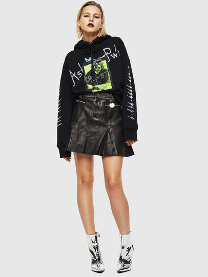Diesel - L-FUJO, Black - Skirts - Image 7