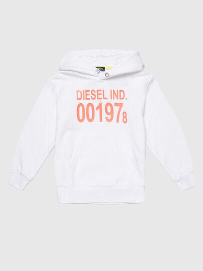 Diesel - SGIRKHOOD OVER, White - Sweaters - Image 1