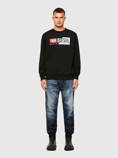 Diesel - S-GIRK-CUTY, Black - Sweaters - Image 4