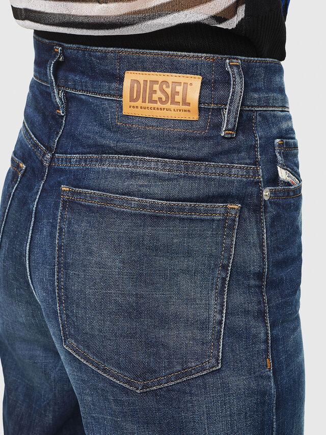 Diesel - Widee 0090W, Dark Blue - Jeans - Image 5