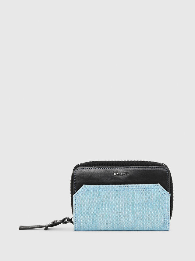 Diesel - BUSINESS II, Black/Blue - Small Wallets - Image 1