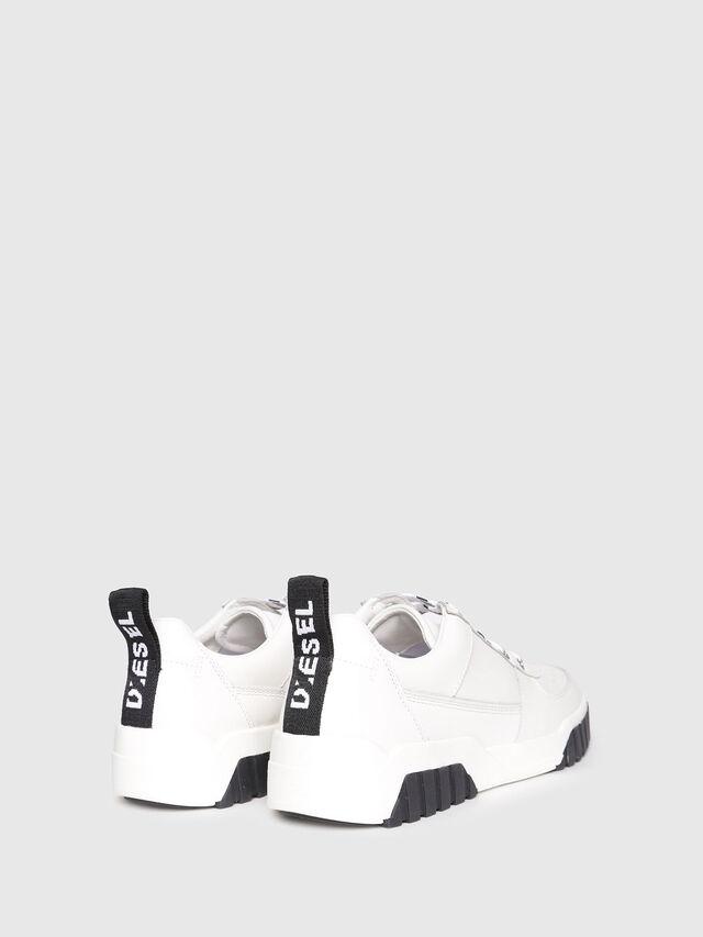 Diesel - S-RUA LC W, White - Sneakers - Image 3