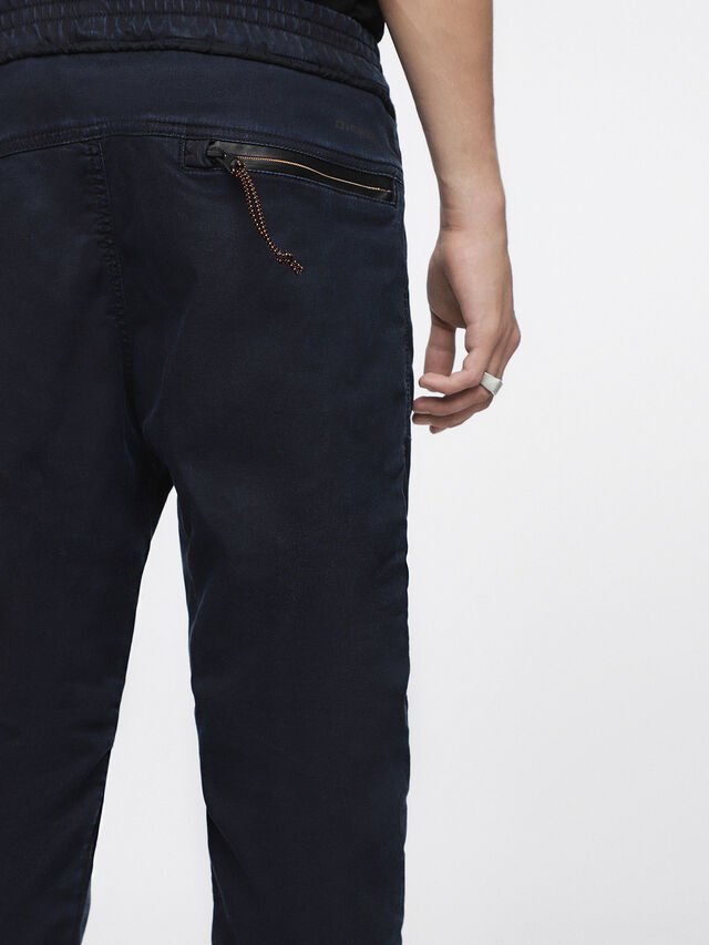 Diesel - Shaquil JoggJeans 0GASP, Dark Blue - Jeans - Image 6