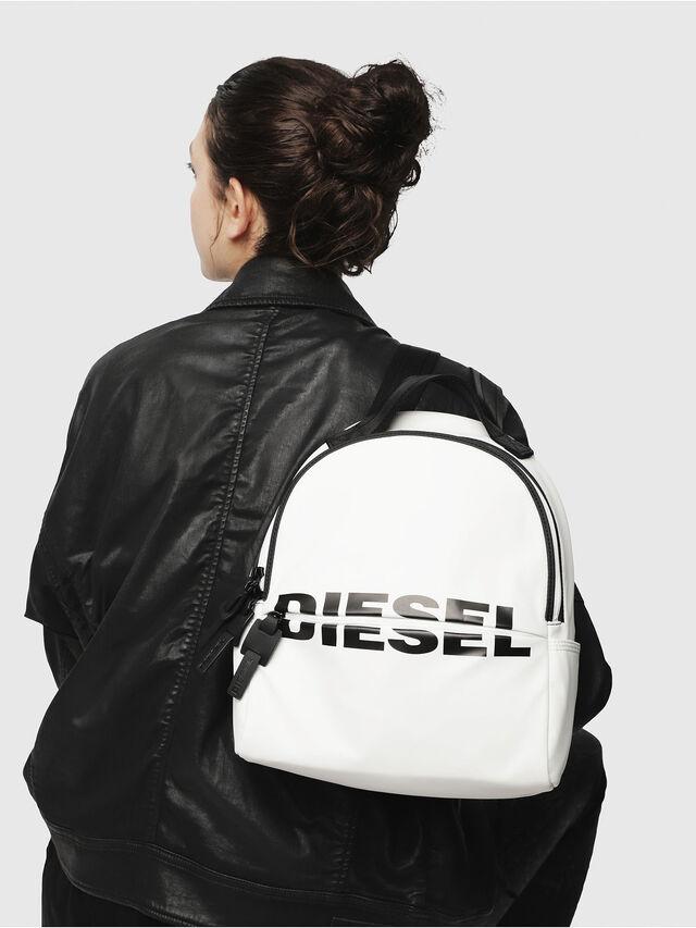 Diesel - F-BOLD BACK FL, White - Backpacks - Image 5