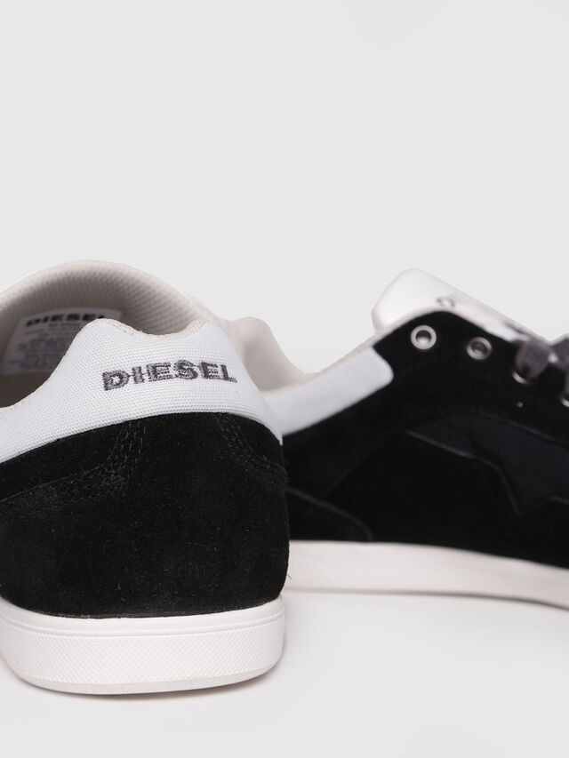 Diesel - S-HAPPY LOW, Black - Sneakers - Image 4