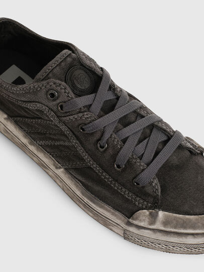 Diesel - S-ASTICO LOW LACE, Dark grey - Sneakers - Image 4