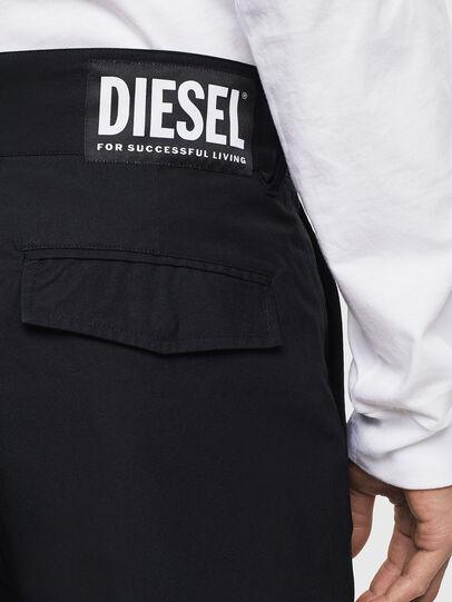 Diesel - P-COOLE, Black - Pants - Image 4