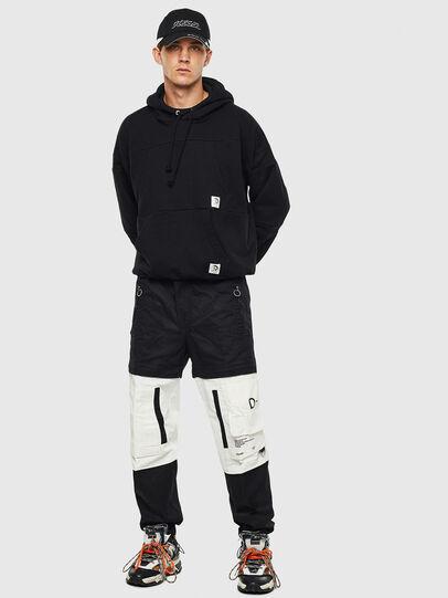 Diesel - P-MELTY, Black/White - Pants - Image 7