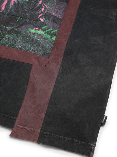Diesel - D-FRANK&STEIN, Red/Black - T-Shirts - Image 5