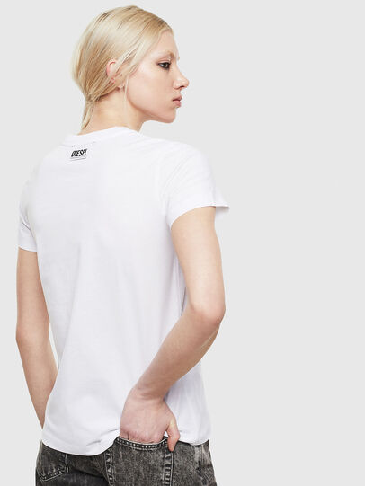 Diesel - T-SILY-S5, White - T-Shirts - Image 2