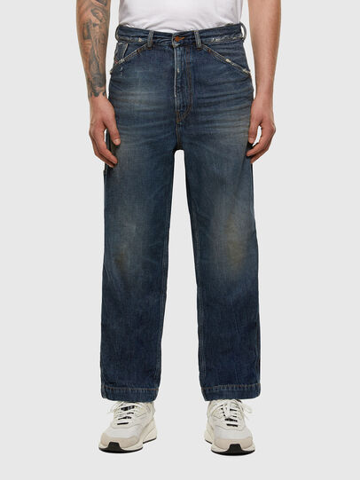 Diesel - D-Franky 009EW, Dark Blue - Jeans - Image 1