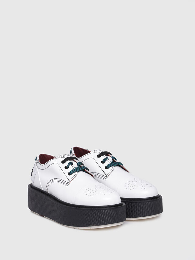 Diesel - D-CAGE LC, White - Flats - Image 2