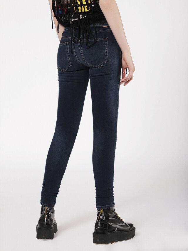 Diesel - Slandy Low 084UT, Dark Blue - Jeans - Image 2