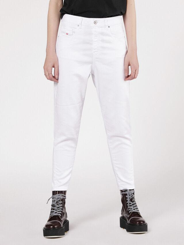 Diesel - Candys JoggJeans 0684U, White - Jeans - Image 1