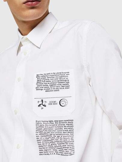 Diesel - S-VEN-PRINT, White - Shirts - Image 2