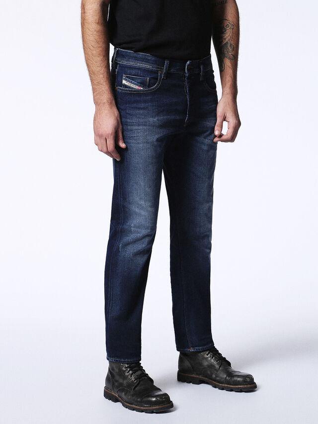 Diesel - Buster 0860L, Dark Blue - Jeans - Image 6