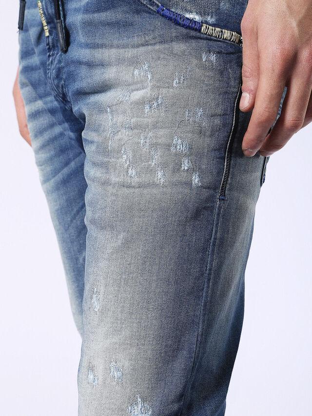 Diesel - Krooley JoggJeans 0680Y, Medium blue - Jeans - Image 8