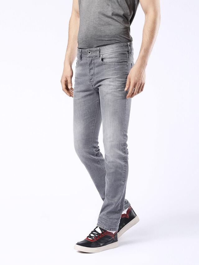 Diesel - Buster 0853T, Black/Dark grey - Jeans - Image 7