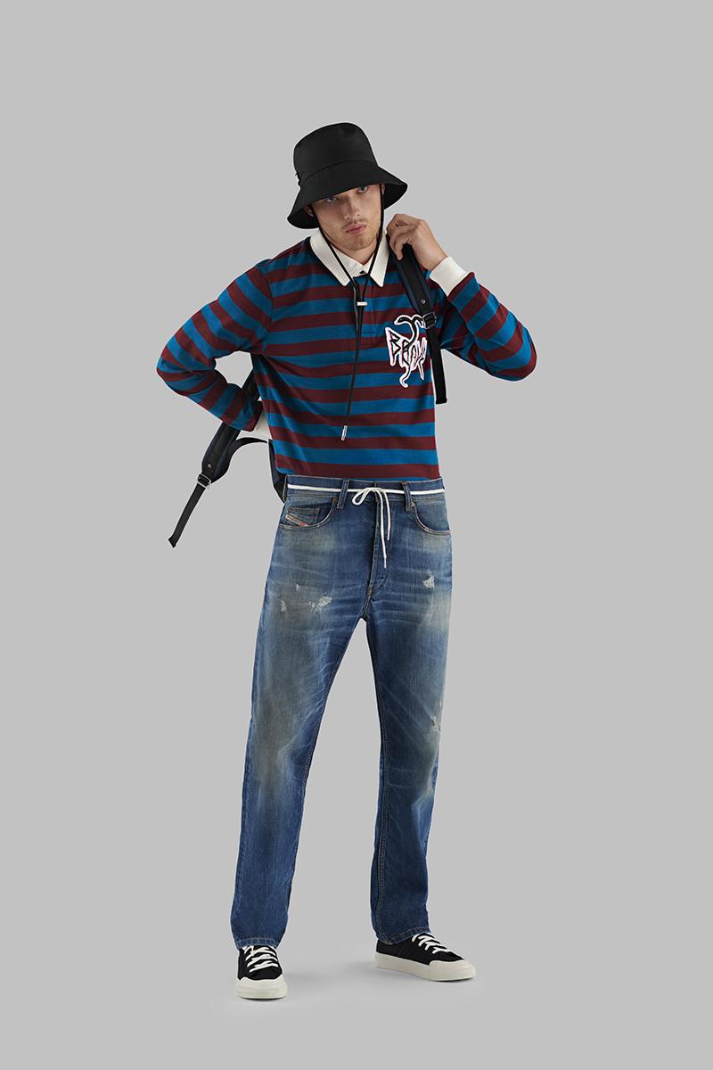 Diesel Straight Jeans Man