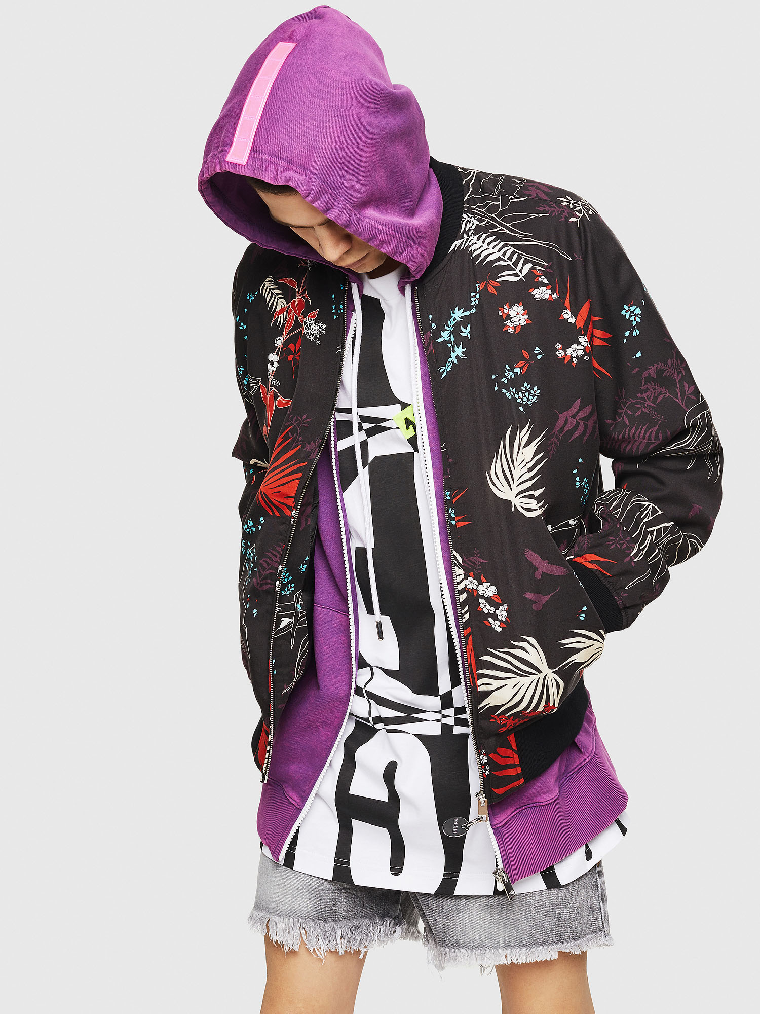 Diesel - J-NAO-PALM,  - Jackets - Image 1