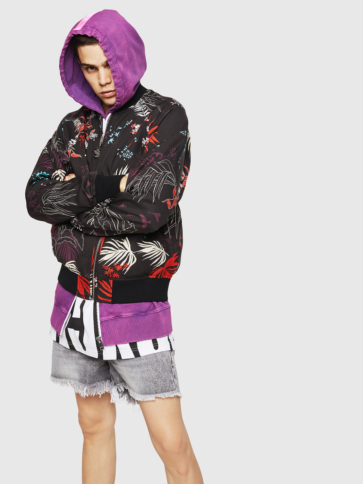 Diesel - J-NAO-PALM,  - Jackets - Image 4