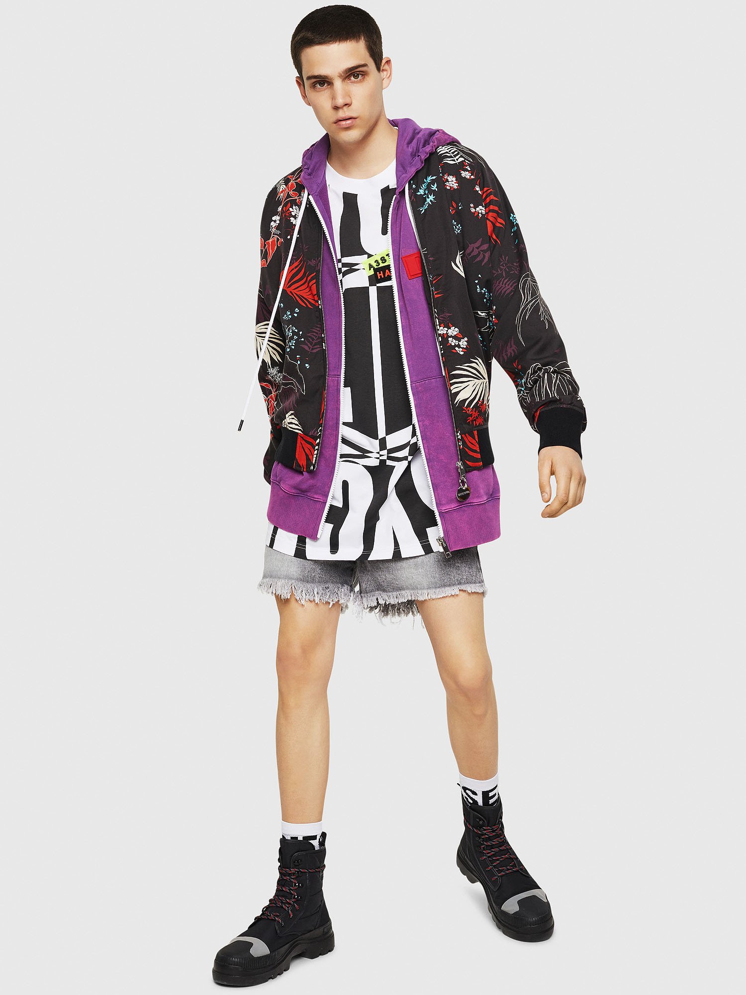 Diesel - J-NAO-PALM,  - Jackets - Image 5