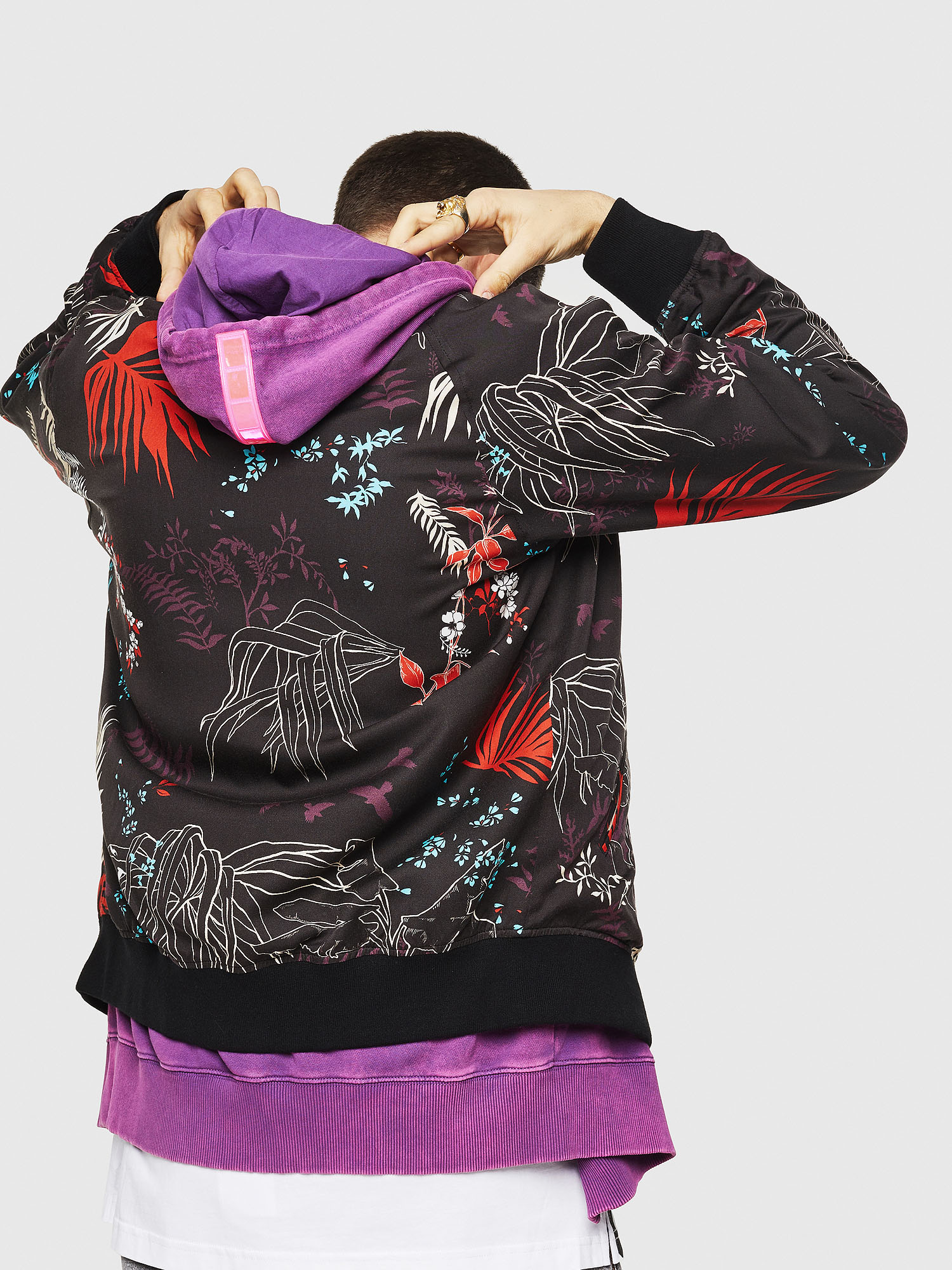 Diesel - J-NAO-PALM,  - Jackets - Image 2